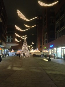 Weihnachtsmarkt Überseequartier