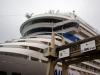 Unser Schiff in Santander